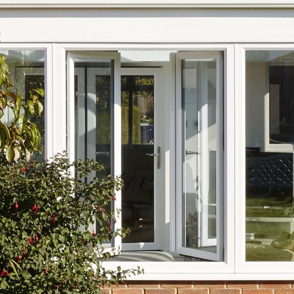 Tile and turn windows opened fully inwards