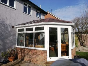 Small Warm Roof Conservatory